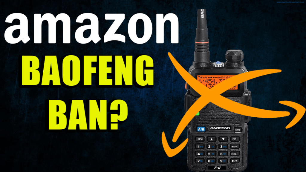 Amazon Taking on UnCertified Baofengs and Wireless Devices